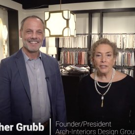 The Home Christopher Grubb on Lighting, Trends, and His Collections